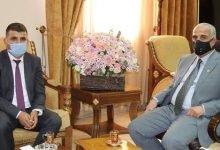 صورة سمو الأميرة سمية بنت الحسن تهنيء رئيس جامعة الحسين بن طلال